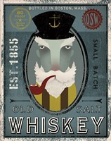 Fisherman I Old Salt Whiskey Fine-Art Print