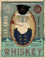 Fisherman III Old Salt Whiskey Fine-Art Print
