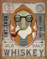 Fisherman II Old Salt Whiskey Fine-Art Print