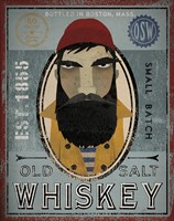 Fisherman VI Old Salt Whiskey Fine-Art Print