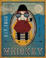 Fisherman IV Old Salt Whiskey Fine-Art Print