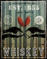 Old Salt Whiskey Love Birds Fine-Art Print