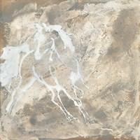 White Horse I Fine-Art Print