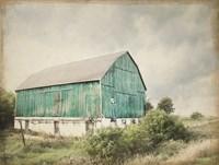 Late Summer Barn I Crop Vintage Fine-Art Print