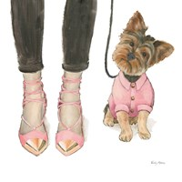 Furry Fashion Friends III Fine-Art Print