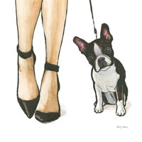 Furry Fashion Friends II Fine-Art Print