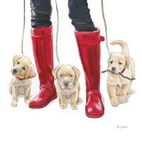Furry Fashion Friends I Fine-Art Print