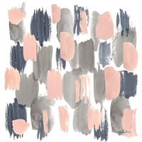 Grey Pink Mist I Fine-Art Print