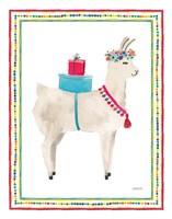 La La Llama III Fine-Art Print