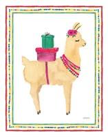 La La Llama I Framed Print