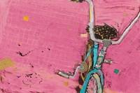 Perky Ts Pink Aqua Crop Fine-Art Print