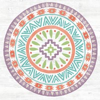 Lovely Llamas Mandala II Fine-Art Print