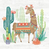 Lovely Llamas III Fine-Art Print