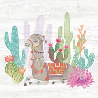 Lovely Llamas I Fine-Art Print