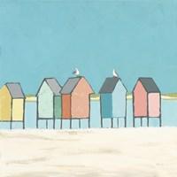 Cabanas II Pastel Fine-Art Print