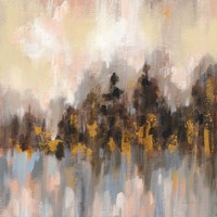 Blushing Forest I Fine-Art Print