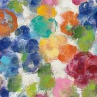 Hydrangea Bouquet I Square II Fine-Art Print