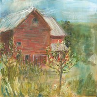 Barn Orchard Fine-Art Print