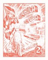 Cuba Stamp XXI Bright Fine-Art Print