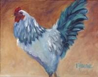 Blue Chick Fine-Art Print
