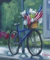 Patriotic Bike Fine-Art Print