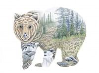 Scenic Bear Fine-Art Print