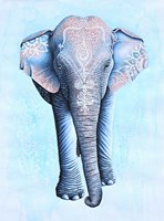 Painted Asian Elephant Fine-Art Print