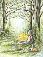 Forest Meditation Fine-Art Print