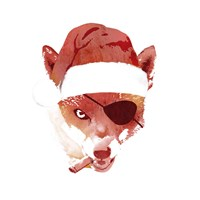 Bad Santa Fox Fine-Art Print