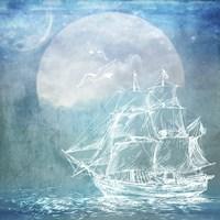 Sailor Away Ship 1 Fine-Art Print