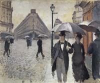 Rainy Day In Paris Fine-Art Print