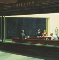 Nighthawks Detail Fine-Art Print