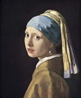 Girl With Pearl Earing Fine-Art Print