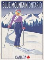 Blue Mountain 2 Fine-Art Print