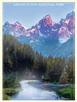 Grand Tetons Fine-Art Print