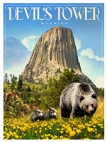 Devils Tower Fine-Art Print