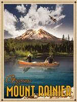 Mt Rainier Fine-Art Print