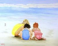 3 Lil Maids Fine-Art Print