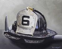 Fire Helmet Fine-Art Print