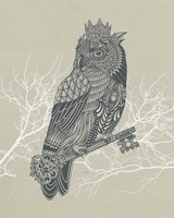 Owl King Fine-Art Print
