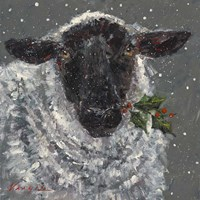 Wren the Christmas Sheep Fine-Art Print