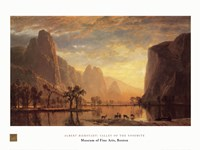 Valley of the Yosemite Fine-Art Print