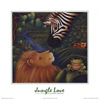 Jungle Love I Fine-Art Print
