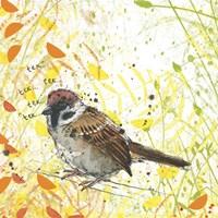 Tree Sparrow Fine-Art Print