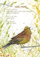 Yellow Hammer Postcard Fine-Art Print