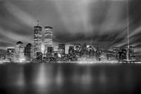 Nyc Wtc Skyline Finished Fine-Art Print