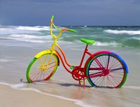 Rainbow Bike Fine-Art Print
