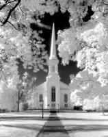 Westfield Church Infrared Fine-Art Print