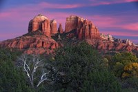 Sedona Cathedral Rock Dusk Fine-Art Print