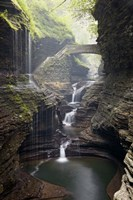 Watkins Glen Rainbow Bridge Fine-Art Print